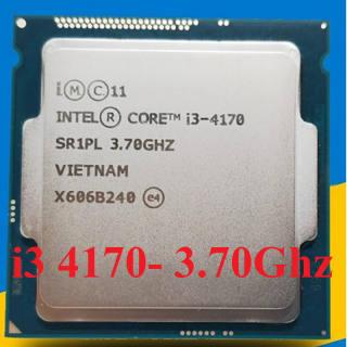 Bộ vi xử lý Intel Core i3 4170 socket 1150 Dùng cho main h81, b85, Q87 …. Bảo hành 1 tháng.