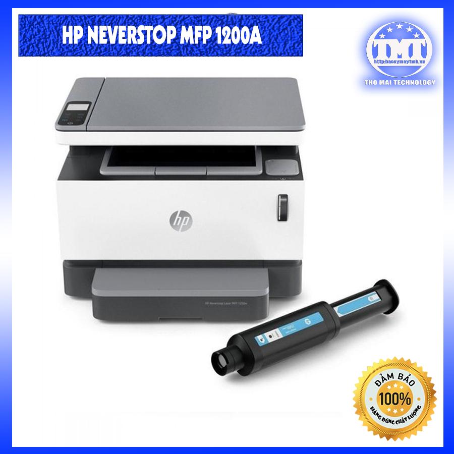 Máy in đa chức năng HP Neverstop Laser MFP 1200A Siêu bền, siêu khỏe, thay mực nhanh