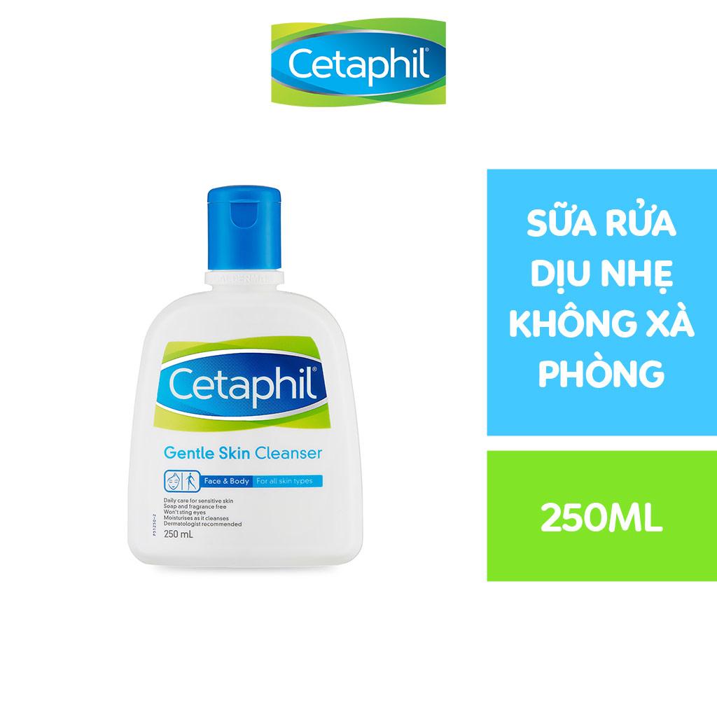 Sữa rửa mặt Cetaphil Gentle Skin Cleanser 250ml | Lazada.vn