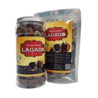 Tỏi Đen Lagado, Tỏi Đen Cô Đơn, Tỏi Đen Cao Cấp (Tỏi cô đơn) , Tỏi đen lên men tự nhiên 100% - COCO MANGO thumbnail