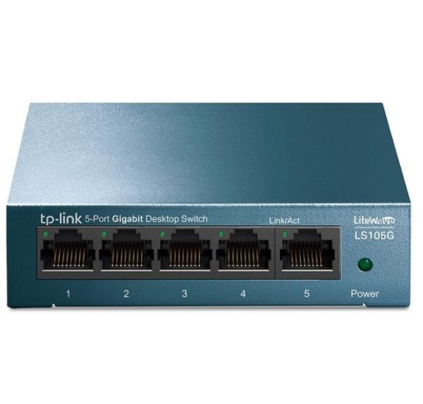 Bảng giá Bộ Chia Mạng Switch  5 Cổng TPLink LS105G Gigabit Vỏ Kim Loại Phong Vũ