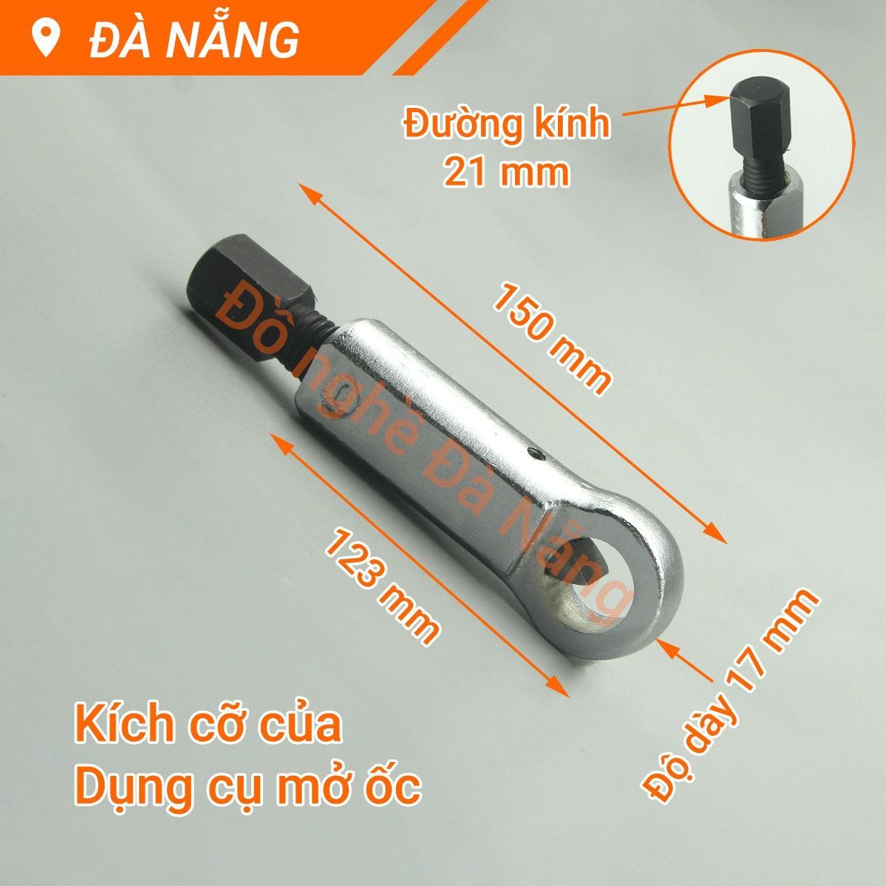Dụng cụ mở ốc, vít gỉ sét các cỡ 9-27mm
