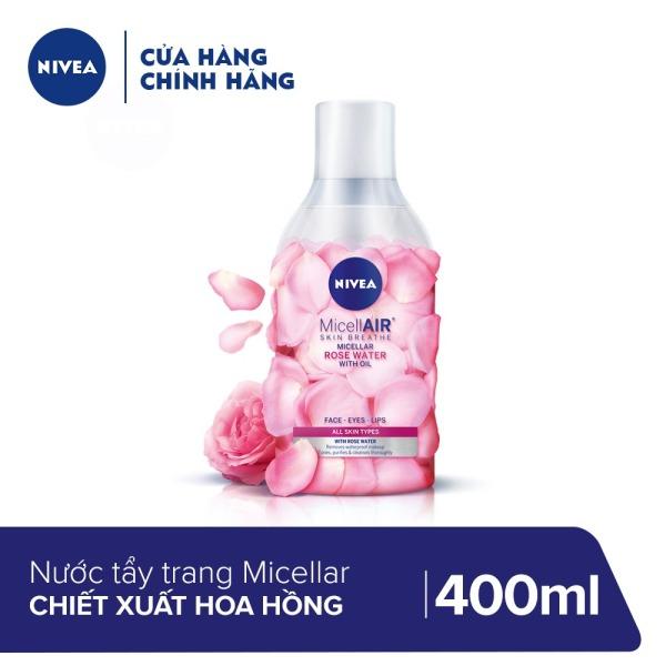 Nước tẩy trang chiết xuất hoa hồng Nivea Micellair Skin Breathe 400ml - 82366 giá rẻ