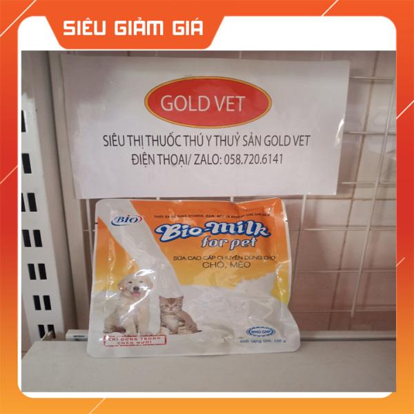 Bio Milk 100gr Sữa cao cấp chuyên dùng cho chó, mèo