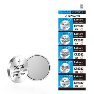 5 viên Pin CR2032 Lithium 3V dùng cho các thiết bị điện tử thumbnail