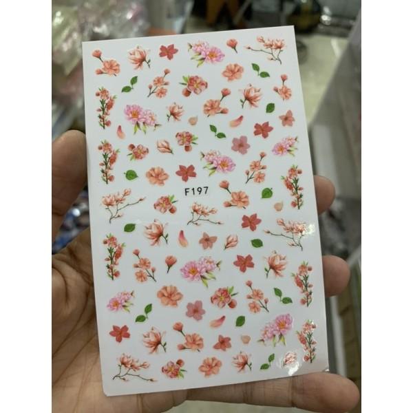 sticker hoa giá rẻ