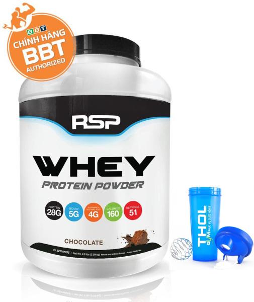 RSP Whey Protein Powder – Whey đẳng cấp giá sốc - Tặng kèm bình lắc THOL màu sắc ngẫu nhiên