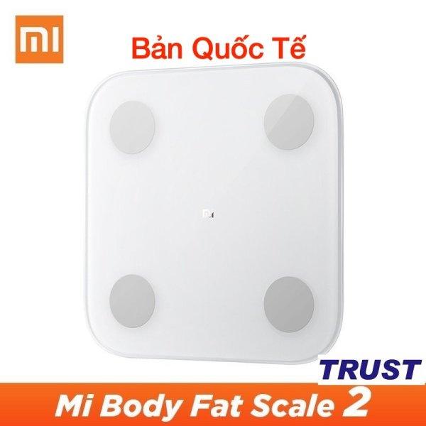 PHIÊN BẢN QUỐC TẾ TIẾNG ANH - HÀNG NHẬP KHẨU CHÍNH HÃNG - Cân XIAOMI Body Fat Scale tester 2 thông minh XIAOMI Mi body fat weigt cao cấp