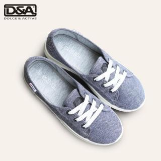 Giày slip on nữ D&A EP L1916 đế cao màu ghi thumbnail