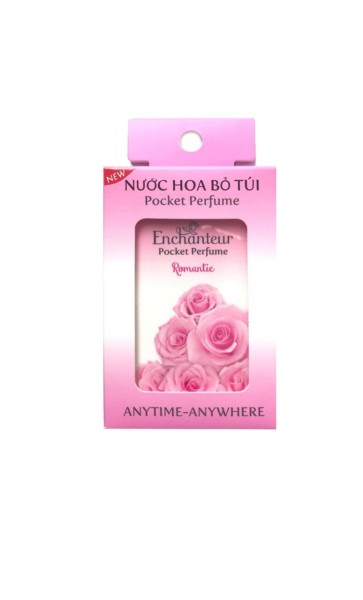 Nước Hoa bỏ túi Enchanteur Romantic chai 18ml cao cấp