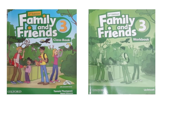 Bộ Family And Friends 3 2nd Edition (2 cuốn + CD)