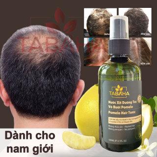 [HCM] Ngăn Hói Tóc Nam Giới Xịt mọc tóc nhanh tinh dầu bưởi tabaha 120ml dành cho nam bị rụng tóc nhiều thumbnail