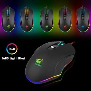 Chuột gaming V1 LED 7 tương thích máy tính laptop pc, mouse chơi game siêu đẹp kết nối cổng usb, có cục chống nhiễu thumbnail
