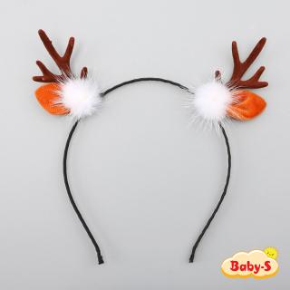 Băng đô sừng tuần lộc xinh xắn đơn giản đáng yêu phù hợp cho mọi lứa tuổi thật nổi bật mùa Giáng sinh Baby-S SNOEL014 thumbnail