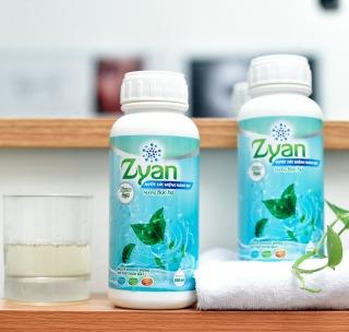 Nước Súc Miệng Diệt Khuẩn Nano Bạc Zyan 500ml - Hương Bạc Hà thumbnail