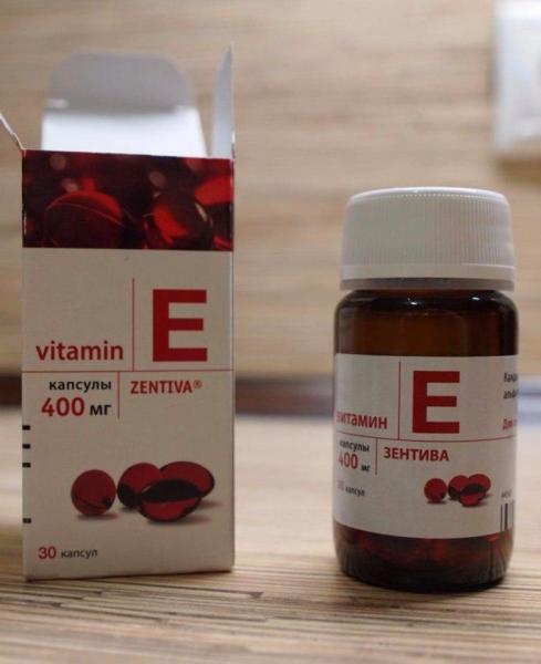 Vitamin E Đỏ Zentiva 400mg 30 viên của Nga tốt nhất