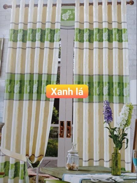 Rèm Cửa sổ cửa  đi vải gấm hàng đẹp