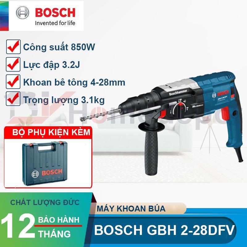 Máy khoan betong Bosch GBH 2-28 DFV 850W