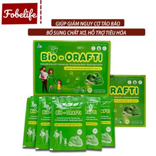 Cốm bổ sung chất xơ, hỗ trợ tiêu hóa, giúp giảm táo bón BIO- ORAFTI - Hộp 20 gói x 3g thumbnail