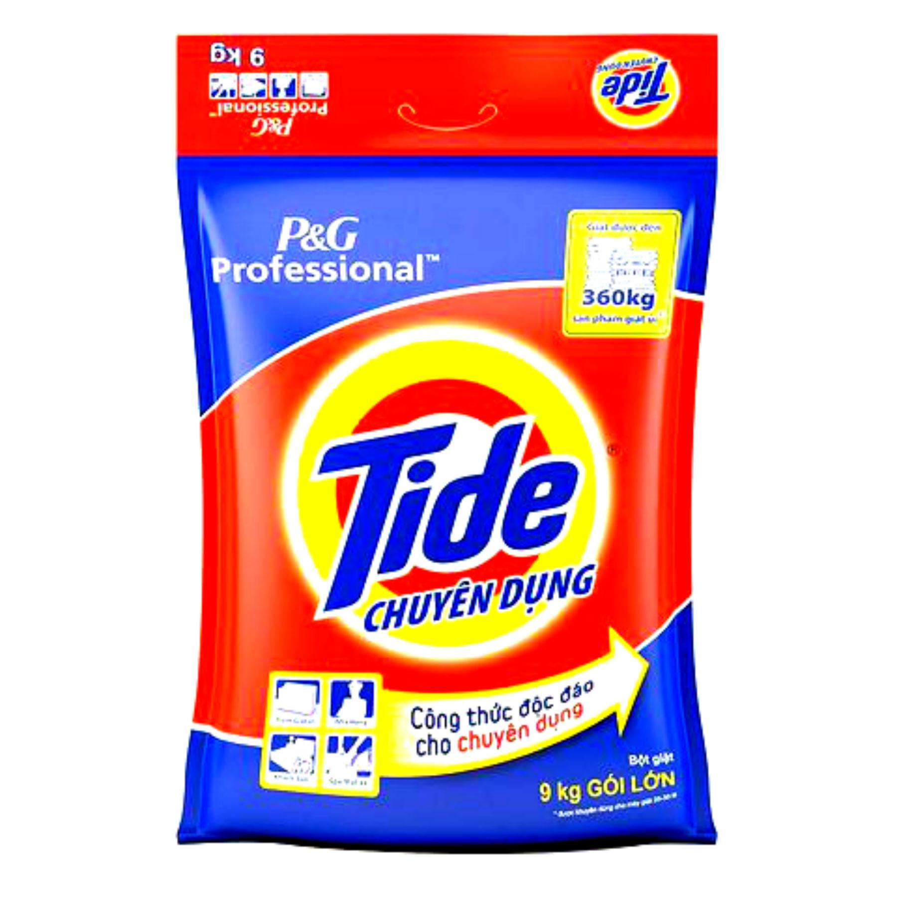 Giá Cực Sốc Khi Mua Bột Giặt Tide Chuyên Dụng 9kg
