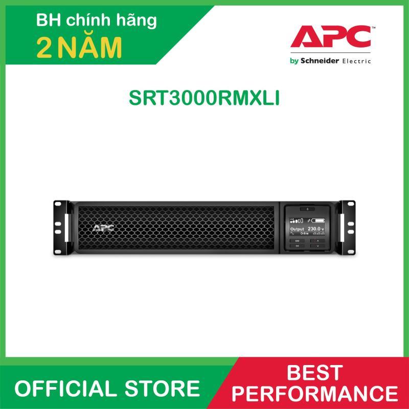 Bảng giá Bộ lưu điện APC: Smart-UPS SRT 3000VA RM 230V - SRT3000RMXLI Phong Vũ