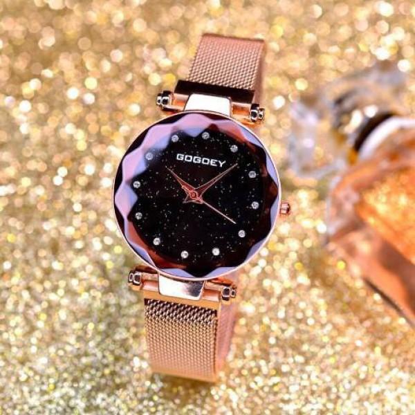 Nơi bán Đồng hồ thời trang nữ GoGoey dây lưới khóa nam châm SC245