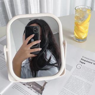 Gương trang điểm để bàn hai mặt xoay 360 độ dùng trong gia đình Gương trang điểm để bàn dễ thương phù hợp cho sinh viên ký túc xá thumbnail