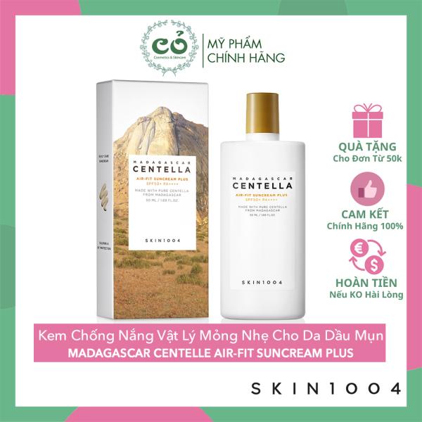 [HCM][Mẫu Mới] Kem Chống Nắng Skin1004 Madagascar Centella Air-Fit Suncream Plus