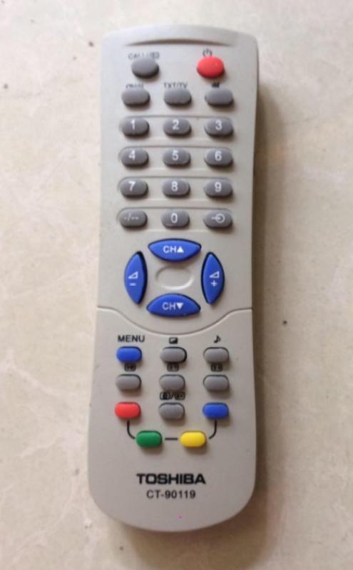 Bảng giá Điều khiển Remote TV Toshiba (Trắng)