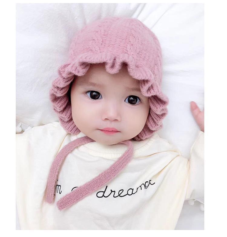 Giá bán Mũ len tai bèo công chúa cho bé siêu xinh(6 tháng- 4 tuổi)