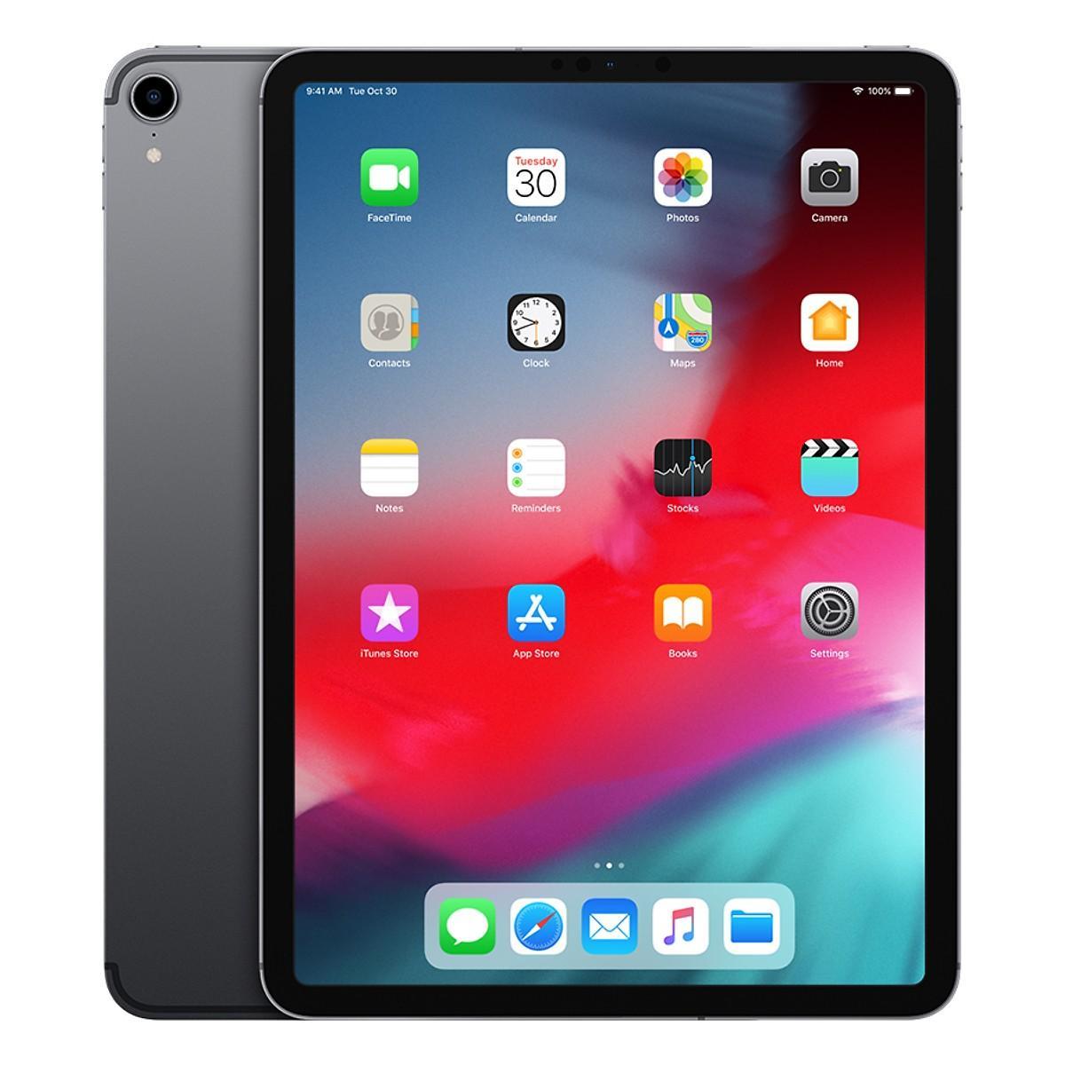 iPad Pro 12.9 inch (2018) 64GB Wifi (Space Grey) - Hàng Chính Hãng