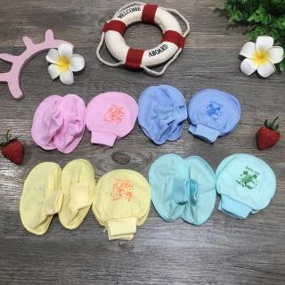 Sét bao taybao chân cho bé sơ sinh hàng Việt Nam thumbnail