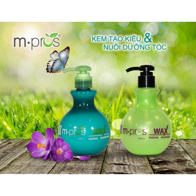 Kem Tạo Kiểu Nuôi Dưỡng Tóc M. Pros Wax Lavo 300ml giá rẻ