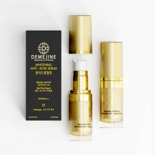 [HCM]Serum sạch mụn sáng da trong vòng 7 ngày-DEMEJINE WHITENING ANTI ACNE SERUM thumbnail