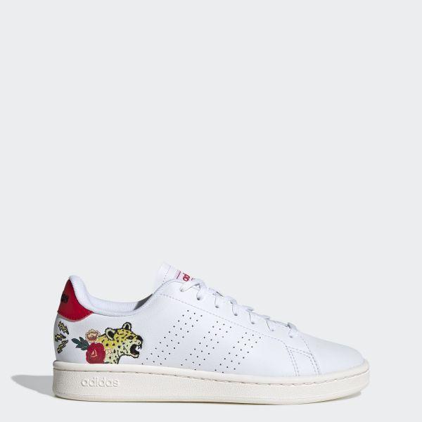 adidas TENNIS Giày Advantage Nữ Màu trắng EH3425