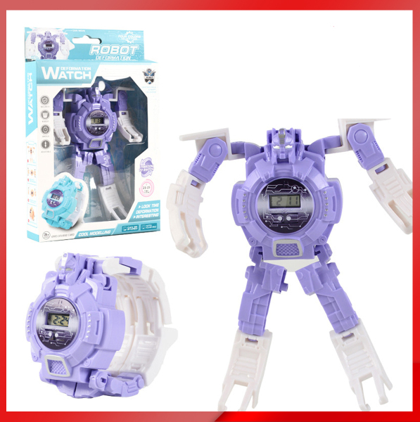 Nơi bán Đồng hồ điện tử trẻ em biến hình Robot 2 trong 1- Đồ chơi đồng hồ cho bé