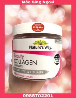 Kẹo Dẻo Chống Lão Hóa - Nature s Way Beauty Collagen Gummies 40 viên - Úc thumbnail