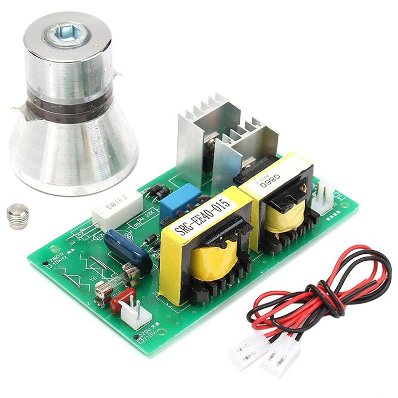 Bảng giá 100w 28khz Ultrasonic Cleaning Transducer Cleaner High Performance +Power Driver Board 220vac Ultrasonic Cleaner Parts