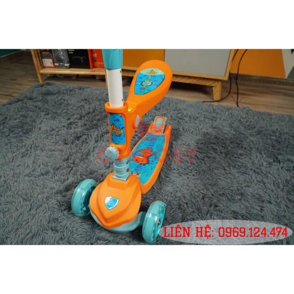 Phân phối Xe Scooter Trẻ Em Cao Cấp B19 Dành Cho Bé Từ 3 Đến 10 Tuổi