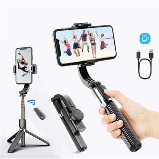 [HÀNG CAO CẤP] Tay Cầm Chống Rung Điện Tử Bluetooth,Gimbal L08,Gậy Chụp Hình Quay Video Chống Rung Cao Cấp,Selfie Stick Tripod,Selfieshow L08 Gimbal Cầm Tay Ổn Định Hỗ Trợ Quay Video Youtube Có Chân Đỡ Tự Đứng,Tay Cầm Chống Rung Đi thumbnail