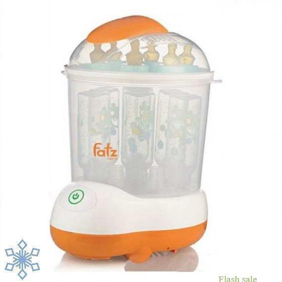 Máy Tiệt Trùng Hơi Nước Sấy Khô Fatz Baby FB4906SL Không BPA, Chứa được 8 Bình Sữa, Có Kèm đồ Gắp Giá Tốt Không Nên Bỏ Qua