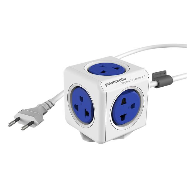 Ổ cắm điện Allocacoc PowerCube Extended 2 Sạc USB - màu ngẫu nhiên (1.5m), chất lượng đảm bảo an toàn đến sức khỏe người sử dụng, cam kết hàng đúng mô tả
