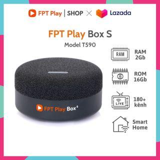 FPT Play Box S 2021 - Model T590 - TV Box Tích Hợp Loa Thông Minh - Tặng Gói SPORT xem Champion Leagues 1 năm thumbnail