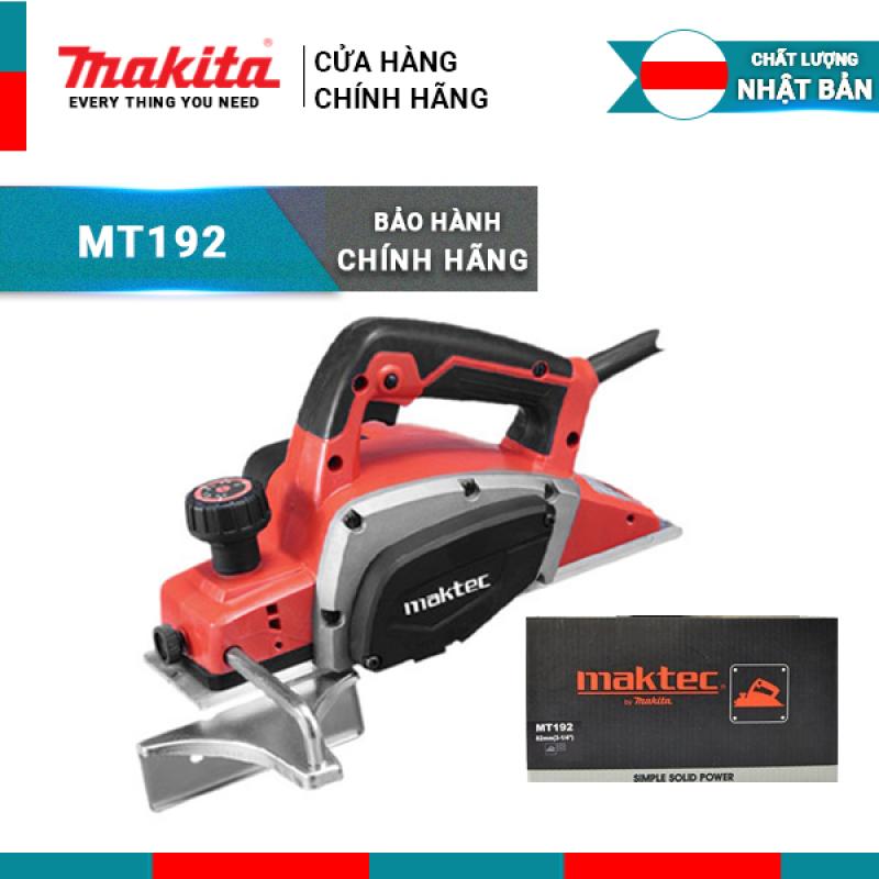 Máy bào gỗ Maktec MT192 công suất 500W   Makita chính hãng