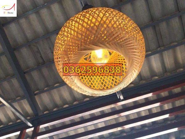 Bảng giá Đèn lồng tre dùng để trang trí nhà cửa, hàng quán (Shop chỉ bán đèn tre không bao gồm đui đèn, bóng đèn và dây điện)