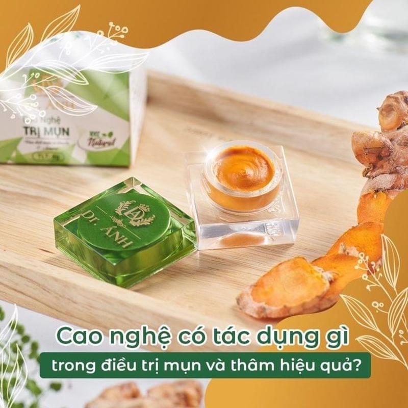 Cao nghệ Dr. Ánh Chính hãng, mờ thâm, sạch mụn giá rẻ