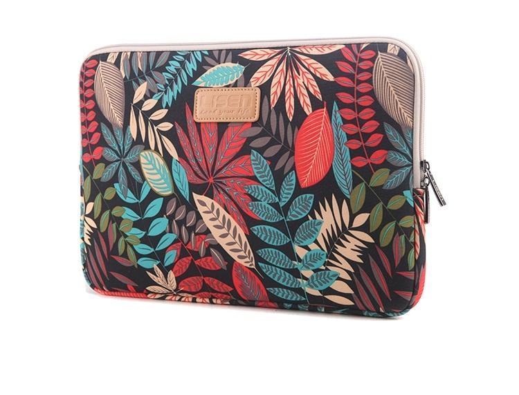 Túi Chống Sốc Cho Laptop Chất Liệu Canvas Hoạt Tiết đẹp Siêu Khuyến Mãi
