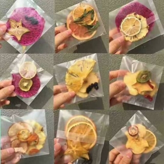 Hộp 30 Set Gói Trà Detox hoa quả sấy khô giảm cân, DETOX KOREA (ảnh thật) tặng kèm bình nhựa 1000ml - PKCB 7