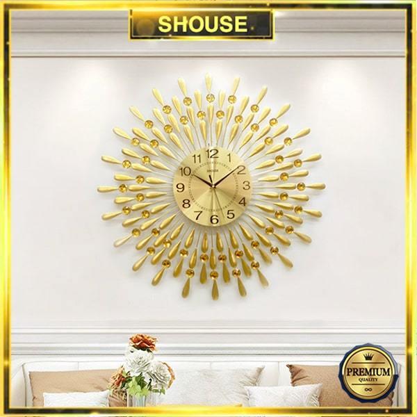 Nơi bán Đồng Hồ Treo Tường S-A30 Trang Trí độc lạ đẹp hiện đại cao cấp cỡ lớn 3d phù hợp phòng khách, phòng ngủ