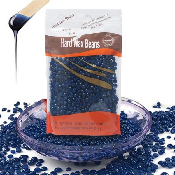 Sáp wax lông nóng Hard Wax Beans - Cavali - Túi 100gr wax lông không đau rát ( GIAO MÀU NGẪU NHIÊN )